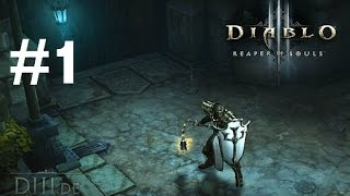 Diablo III Ultimate Evil Edition Gameplay Walkthrough Part 1 (Ps4/Xbox One 1080p HD)