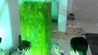 Cara mengecat dinding bertekstur batik