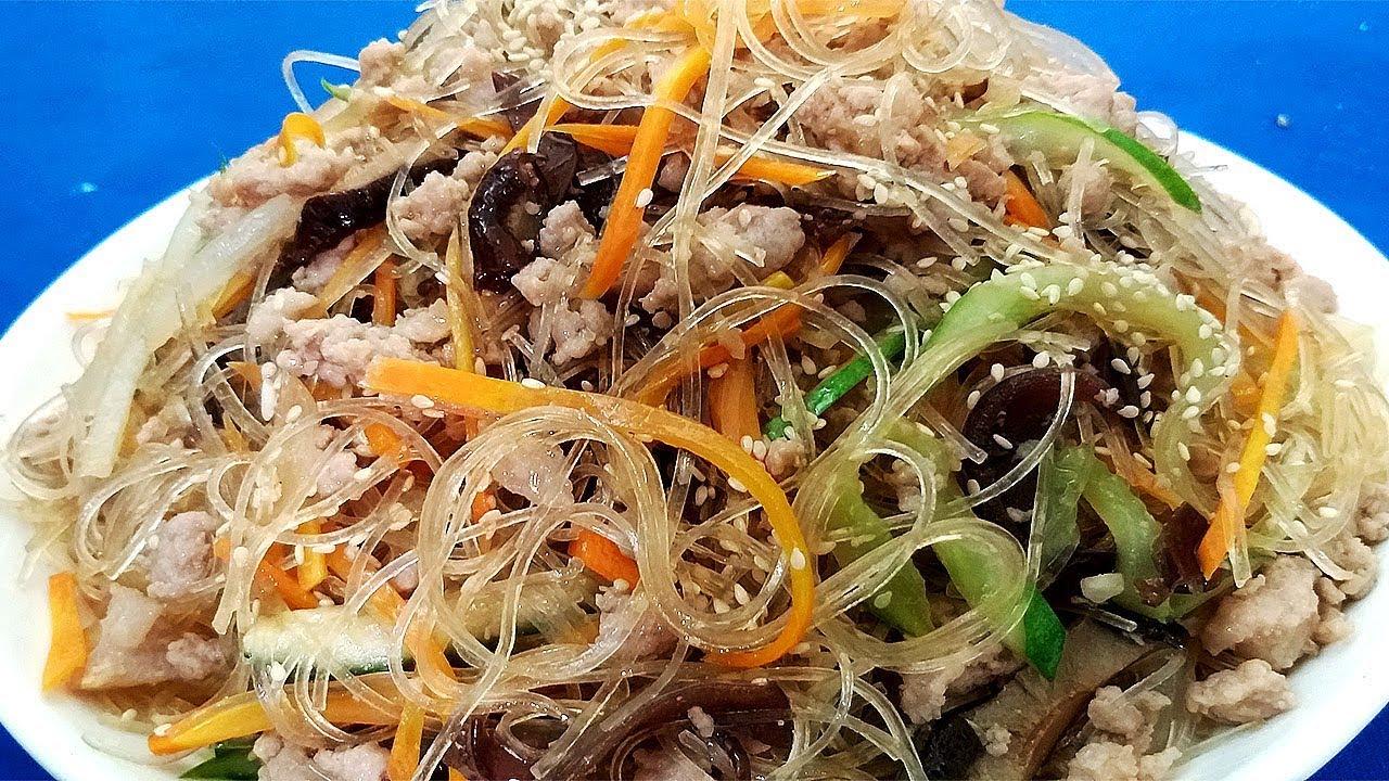 Cách làm món Miến trộn thịt bằm vừa rẻ tiền lại ngon miễn chê by Hồng Thanh Food