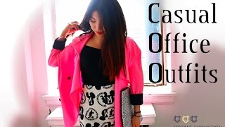 Fashion Friday: Casual Office Outfits Thumbnail