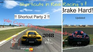 All Shortcuts and Tricks in Real Racing 3- 2018 Updated