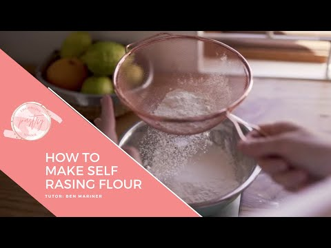 how-to-make-self-raising-flour-from-plain-flour---making-self-raising-flour-easily