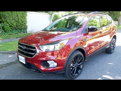 2017 Ford Escape Review--THE BEST SELLING CROSSOVER