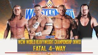 WWE 2K18-The Undertaker vs  Batista vs John Cena vs Shawn Michaels -WWE Fatal 4-Way Match