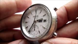 Seiko 6138 Chronograph Automatic vintage wrist watch