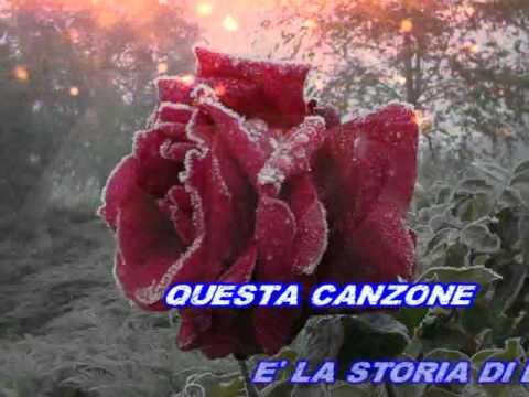 Tony Del Monaco - Una spina e una rosa (karaoke)