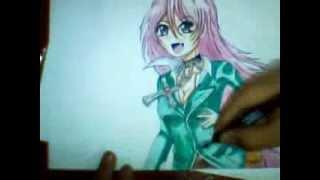 Draw Moka Akashiya (rosario + vampire)