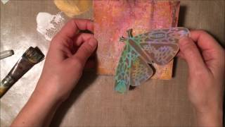 Giant Butterfly (aka Moth) Card - The Crafters Workshop