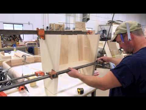 The Rock Ola Shuffleboard Table: Leg Assembly