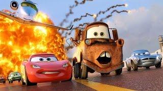 Şimşek Mekkuin Arkadaşları Mater ve Fillmore ile Yarışıyor (Arabalar 2 Oyunu)