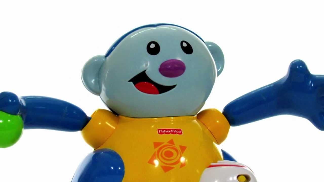 Toys For Infants >> Fisher Price Toys | Baby Gymnastics Monkey Chase Toy Review - YouTube