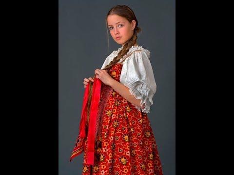 Как на Руси отличали  девицу от замужней  женщины.