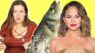 People Try Chrissy Teigen's Dinner