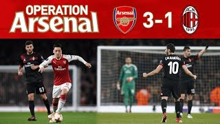 ARSENAL 3-1 AC MILAN (5-1 AGG) - PAY HIM WHAT HE WANTS!