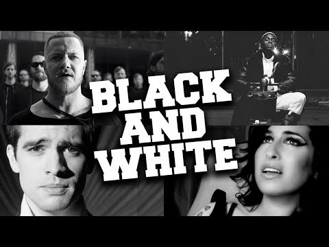 Top 100 Today's Most Viewed Black & White Music Videos 2019