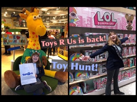 Toy Hunt – Toys R Us Is Back - New Jersey Grand Opening! LOL Surprise OMG Dolls, Poopsie & More!