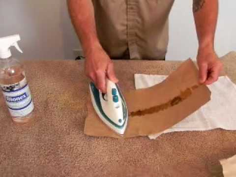 How To Remove Candle Wax From Carpet Fast And Easy Youtube