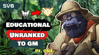Educational Winston Unranked to GM Pt. 1 | Fundamental Tips & Placements