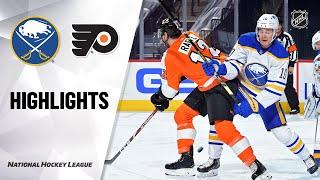 NHL Highlights | Sabres @ Flyers 1/18/21