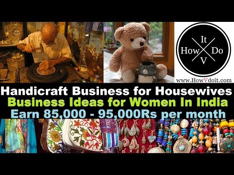 Handicraft Online Business Idea |  Business For Housewife | Latest Home Business Ideas