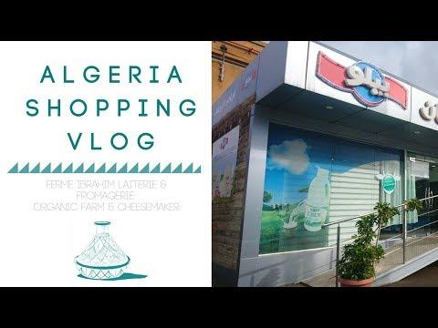 ALGERIA SHOPPING VLOG   Ferme Ibrahim Organic Cheesemakers in Algeria - Fromagerie Bio en Algérie