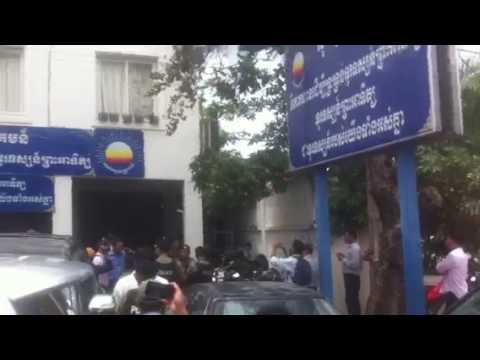 Police surround CNRP headquarters seeking to arrest Kem Sokha