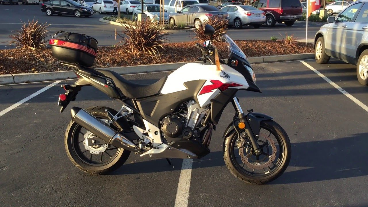Contra Costa Powersports-Used 2014 Honda CB500X w/ABS lightweight ...