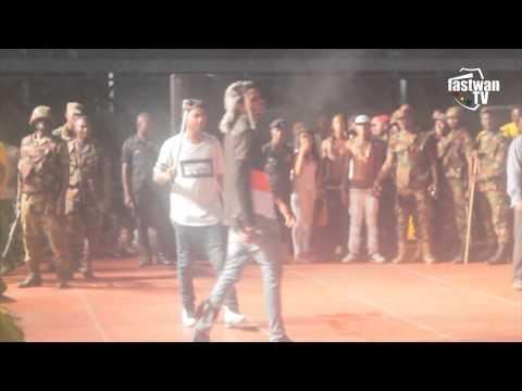 Alkaline & Shatta Wale - Performance at MTN Pulse concert 2016   fastwan tv
