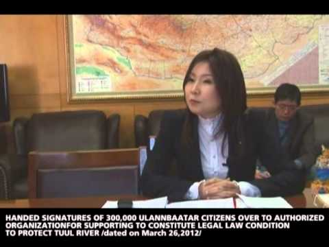 DELIVER PROPOSAL TO CHAIRMAN OF MONGOLIAN PEOPLE`S PARTY GROUP