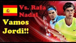 Top Spin 4 ps3 español modo carrera | Master 1000 de Roma | Cuartos Rafa Nadal muy difícil
