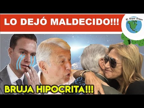 ASCO MASIVO PORQUE ADELA MICHA SE ARRASTRÓ CON AMLO Y LO LLENO DE BESOS Y ABRAZOS #ENT 475