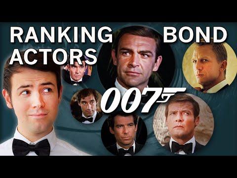 Ranking James Bond Actors   Personal Favourites