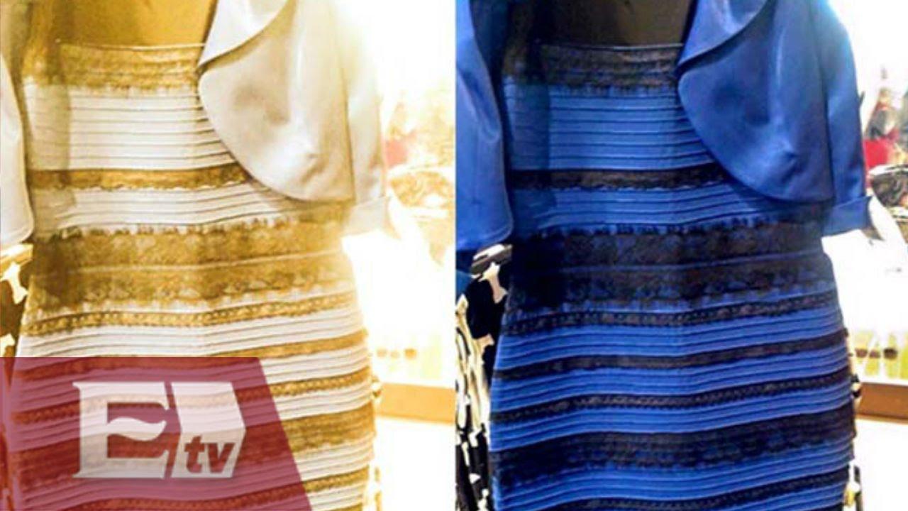La controversia del vestido azul con negro