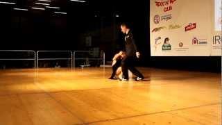 Finale Tango Fantasia Torsten Thiele y Viktoria Baumann IDO European Championship 2012