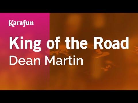 Karaoke King Of The Road - Dean Martin *
