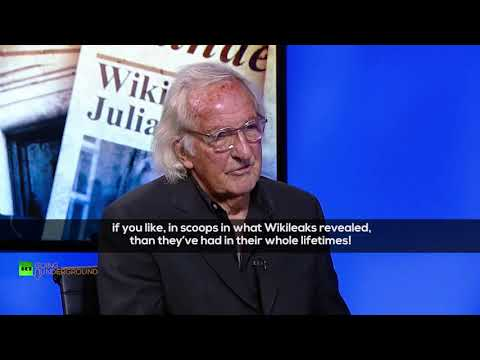 'Assange shown that media is an appendage of established power' – John Pilger