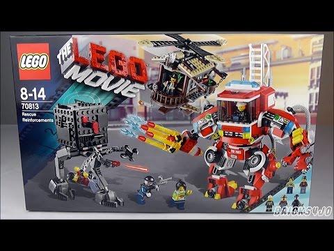 LEGO 70813 The LEGO Movie Windmühle und Feuerwehr-Roboter Verstärkung - Review deutsch -