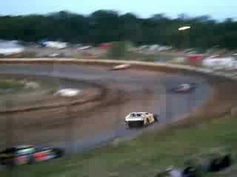 Kopellah Speedway Mod Heat Races 7/5/08