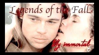 "клип Evanescence ""Legends of the Fall"" My immortal"