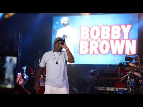 J Fly & Friends In Atl: Bobby Brown Every Little / Don't Be [Live]