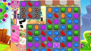Candy Crush Saga Level 694 COLLECT 15 COLOR BOMB CANDY Completed no booster 3 Star