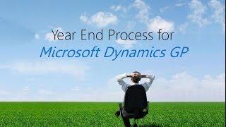 Year end process for Microsoft Dynamics GP