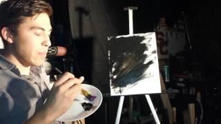 Bob Ross painting tutorial parody Mark Rothko