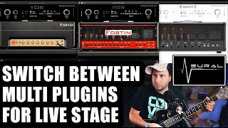 How to use MULTI Neural DSP Plugins Contemporary FOR LIVE SETUP - MIDI Settings Step By Step Guide