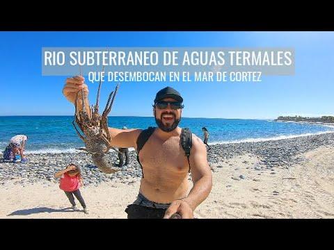 RIO SUBTERRANEO DE AGUAS TERMALES BUENA VISTA BAJA CALIFORNIA SUR MEXICO / SERGIO VAZQUEZ
