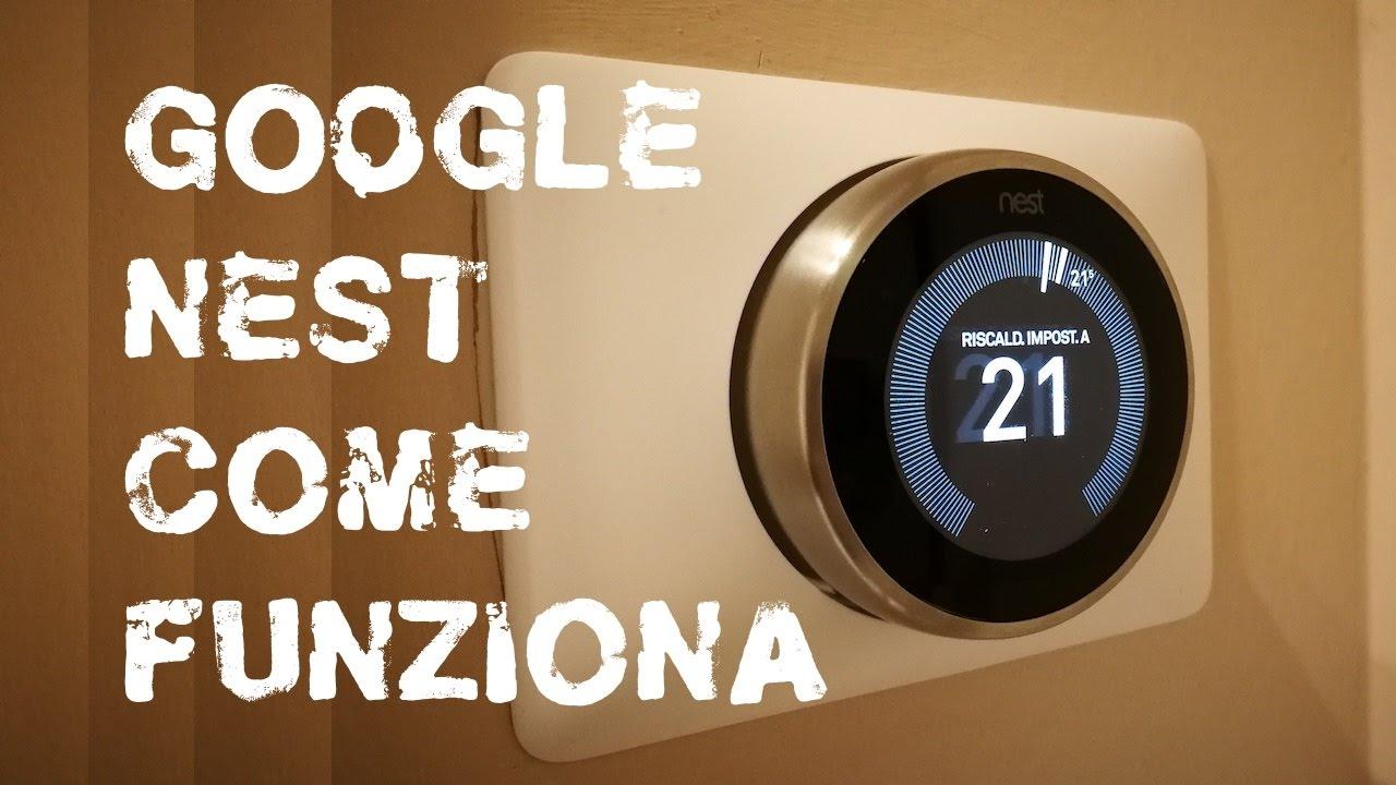 Schema Collegamento Termostato Nest : Termostato google nest come funziona youtube