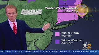 New York Weather: Storm Dumps Measurable Snow Across Tri-State Area