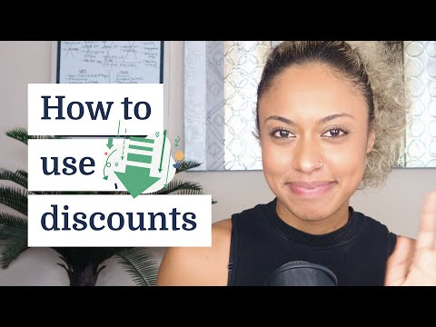 Creative ways to use discounts to grow your business