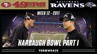 The FIRST Harbaugh Bowl! (49ers vs. Ravens 2011, Week 12)