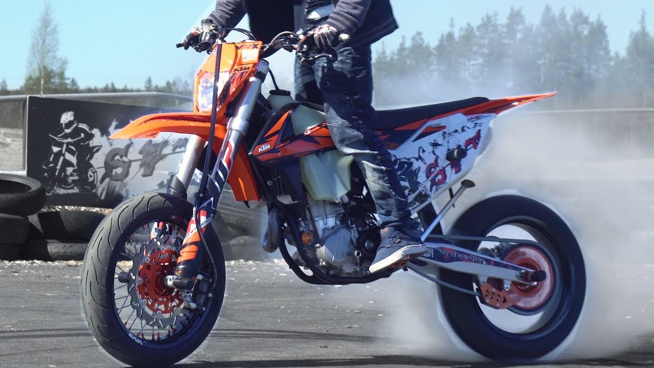 ktm exc 450 supermoto arttu stenberg youtube. Black Bedroom Furniture Sets. Home Design Ideas